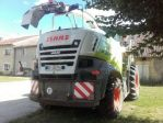 Pneumatic silo loader CLAAS JAGUAR840T4I