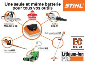 Gamme STIHL batterie